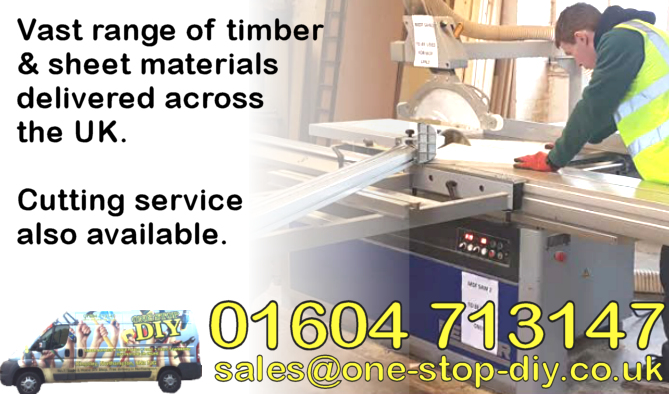 Nationwide Timber and Sheet Material Cutting & Delivery Service
